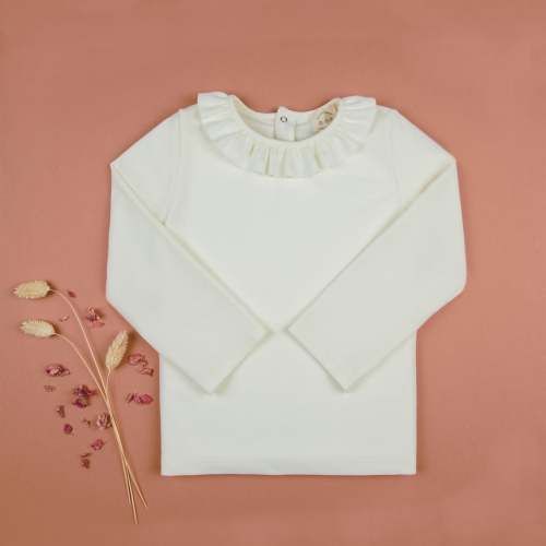 copy of Top - anti-UV with a ruffle collar