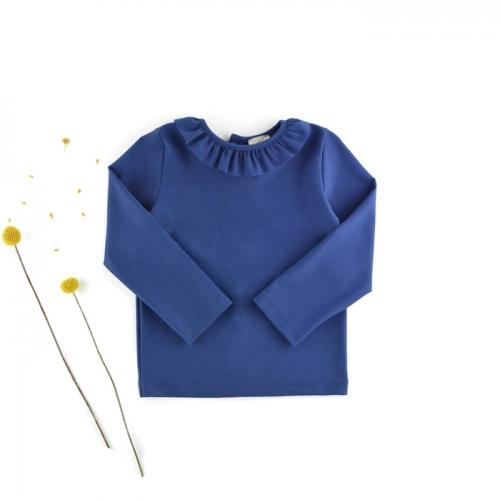 Top - anti-UV with a ruffle collar